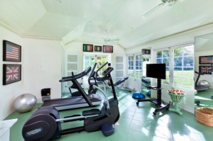 Fitness Centre outfitted with ultra-modern equipment